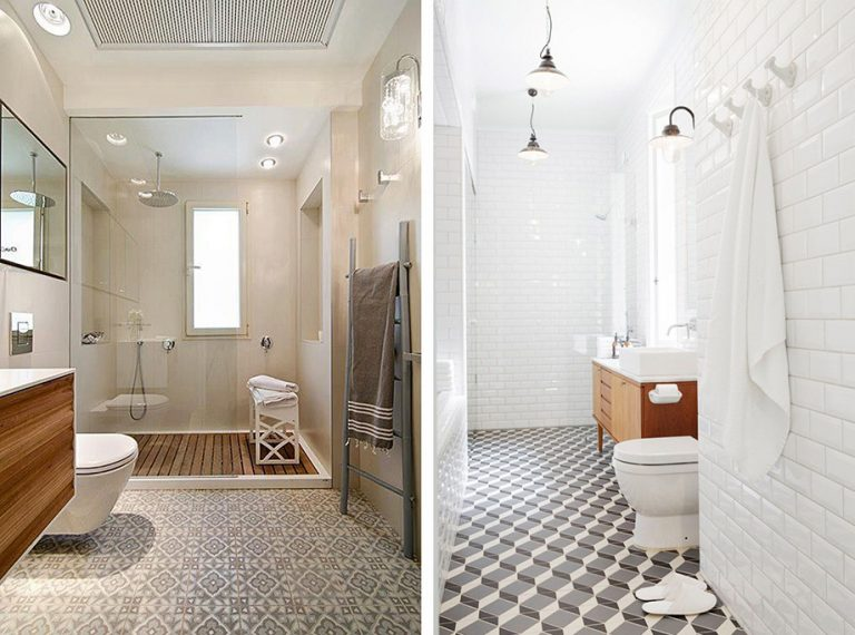 Salle de bains individuelle
